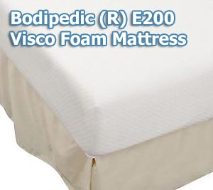 Bodypedic E200 Visco Memory Foam Mattress