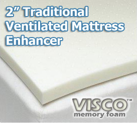 Visco Ventilated Mattress Topper
